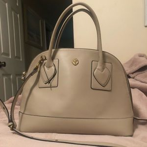 Anne Klein Billie Dome Satchel in Taupe